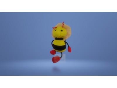 Підвіска-іграшка бджола червоні лапки
