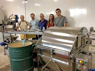 Експлуатаційні випробування Автоматичної лінії для відкачування меду «ПАВА»