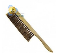 Natural single-row brush