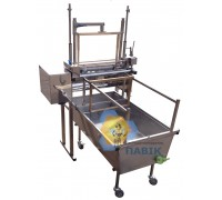 Cross functional uncfpping machine for bee frames