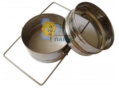 Sieve filter from two stainless steel parts 150 mm