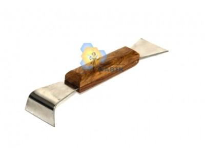 Стамеска пасічна нержавійка деревяна ручка